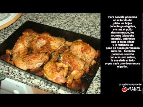Ensalada c sar de jamie oliver la web de cocina de mabel for Jamie oliver utensilios de cocina