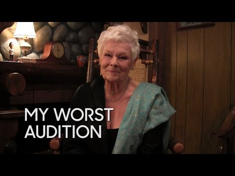 My Worst Audition: Judi Dench