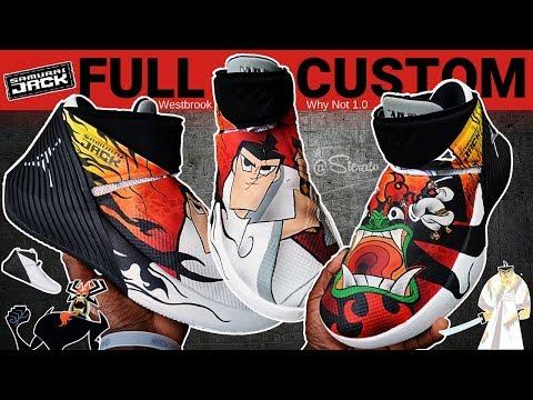 Full Custom   Samurai Jack Aku