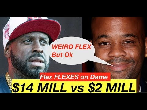 BREAKING UPDATE: Funk Flex FLEXES On Dame Dash With Net Worth In Response WEIRD FLEX BUT OK (LOL)