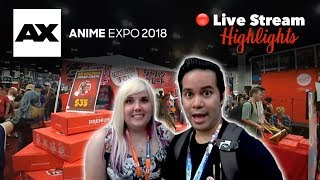 Anime mystery boxes and more from Anime Expo 2018!