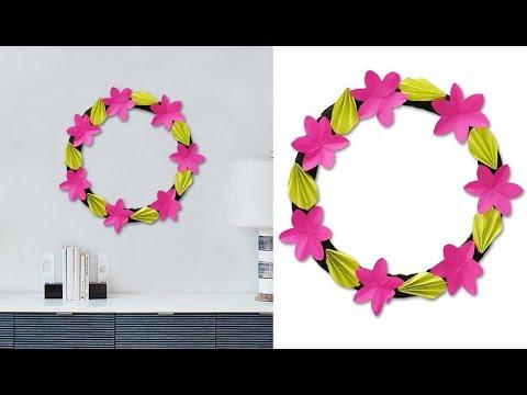 Paper Craft Ideas !!! Easy DIY Wall Decoration Idea / DIY