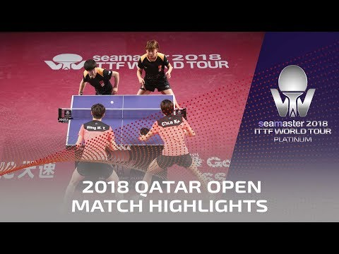 2018 Qatar Open Highlights I Chen Ke/Wang Manyu vs Sun Yingsha/Chen Xingtong (Final)