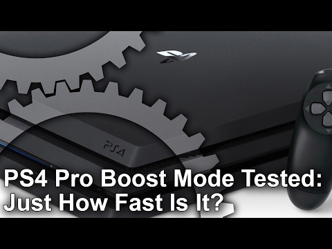 PS4 Pro Boost Mode Tested: Just How Fast Is It?