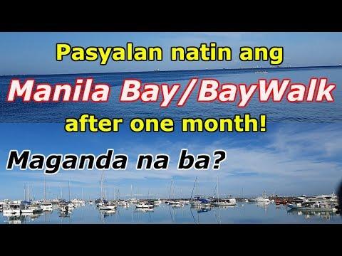 Manila Bay/BayWalk, Maganda na ba? Update April 27, 2019!