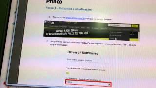 video como baixar atualizacao tv philco