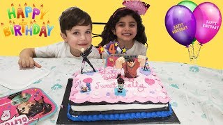 Zack Cousin Sally 4th Birthday Party - Kids Fun Vlog Video