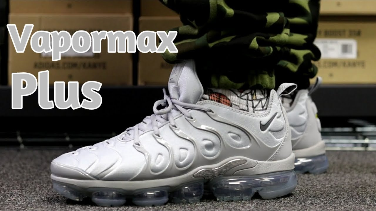 303032fa5aa NIKE AIR VAPORMAX PLUS REVIEW+ ON FEET - YouTube