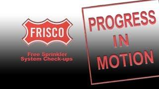Progress in Motion - Free Sprinkler System Check-ups