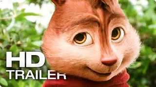 ALVIN UND DIE CHIPMUNKS 4: Road Chip Trailer 2 German Deutsch (2016)