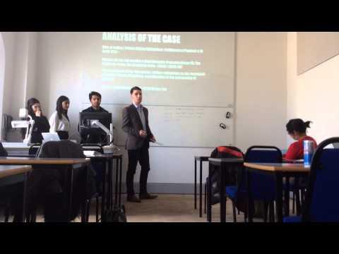 Law Presentation: C.I.F contract