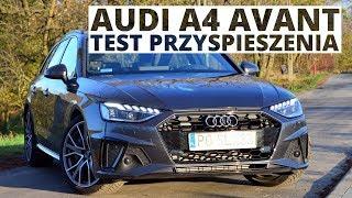 Audi A4 Avant 2.0 45 TFSI 245 KM (AT) - acceleration 0-100 km/h