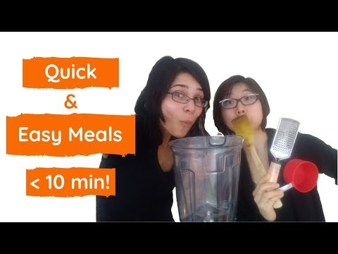 Quick & Easy Healthy Meals » 4 Meal Templates