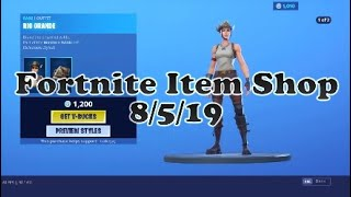 Fortnite *NEW* Rio Grande Skin! [August 5, 2019 Item Shop]