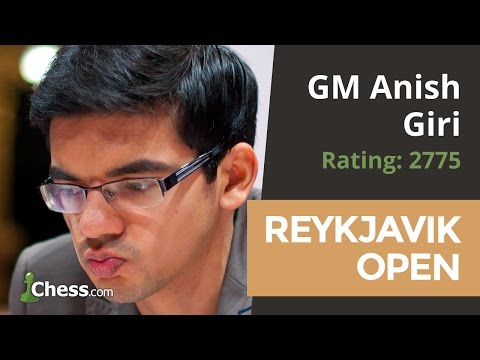 Reykjavik Open: GM Anish Giri Gives Commentary