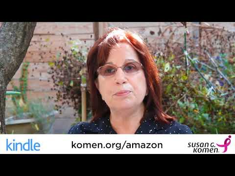 Komen & Amazon: Everybody Has a Story- Lois Winston