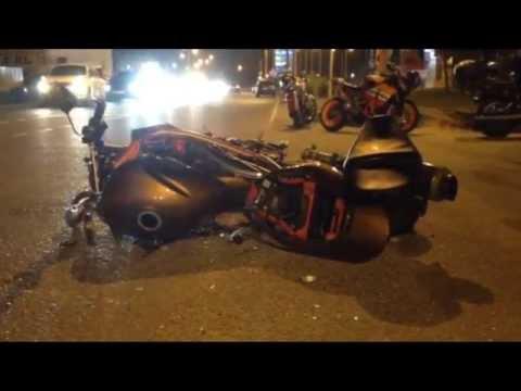 В Анапе произошло ДТП на автомобильной дороге «Анапа-Сукко» с участием мотоцикла