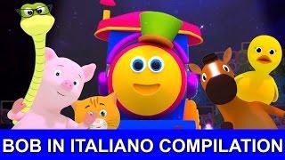 bob il treno in vivaio italiano rime compilazione | filastrocche con bob il treno
