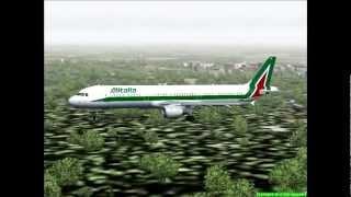 Fs2004 Above Italy with Alitalia.avi