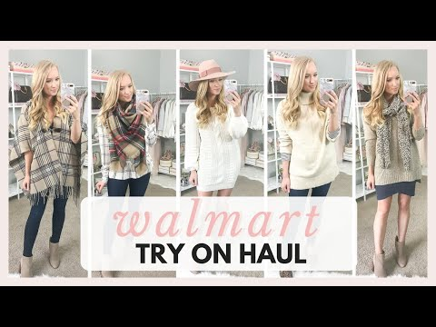 HUGE WALMART TRY ON HAUL AND SHOP WITH ME 2018 FALL OUTFITS | Amanda John