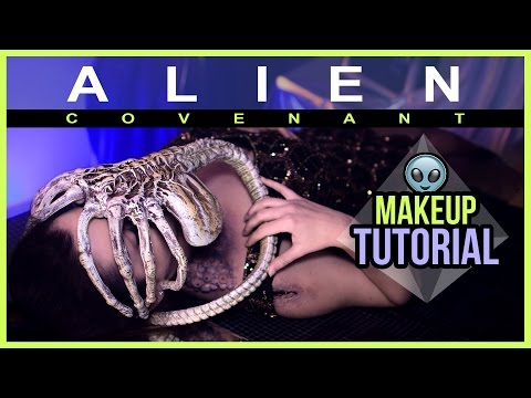 ALIEN: COVENANT - Facehugger Attack - Makeup Tutorial 👽 (mit SFX) from YouTube · Duration:  8 minutes 10 seconds