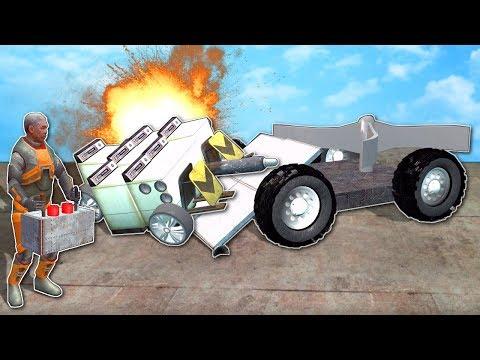 BUILDING BATTLE BOTS! - Garrys Mod Gameplay - Gmod RC Battle Bots Challenge!
