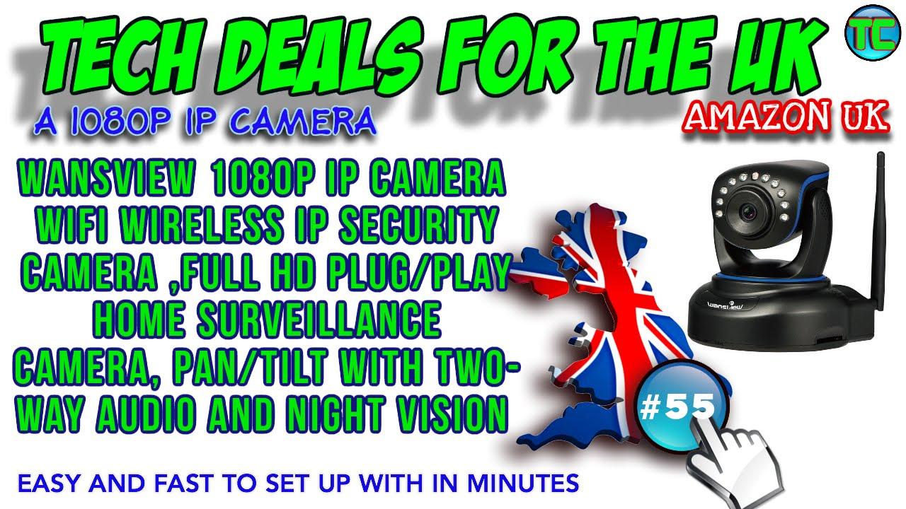 Wansview Wireless 1080p Ip Camera