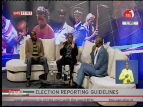 James Ratemo at KBC TV on Elections in Kenya