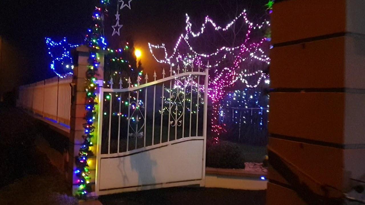 Maison illuminée décoration de noel 2019/2020 à Avricourt ( en détail) - YouTube