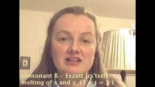 Pronunciation German ß - Learn German easily