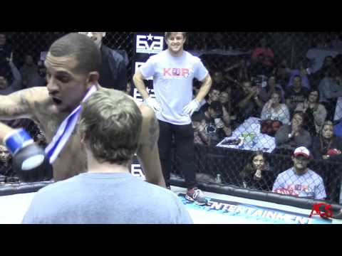 Shit Got Real in this MMA Face Off Bitch Slap