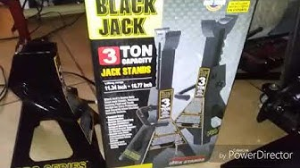 Black Jack 3 ton jack stand review