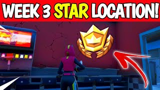 Fortnite Season 10 Week 3 Secret Battle Star Location - Season X Secret Star Location