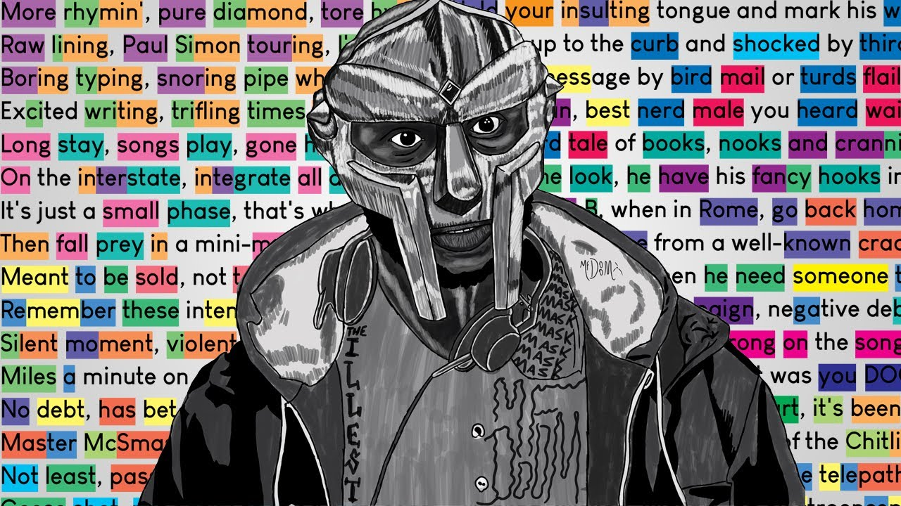 MF DOOM - More Rhymin'   Rhymes Highlighted
