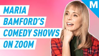 Maria Bamford Performs Private Stand-Up Comedy At You While Self-Isolated | Mashable Originals