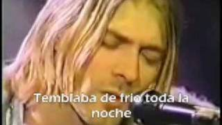 Nirvana - Where did you sleep last night ( Subtitulado )