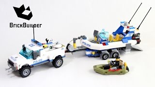 Lego City 60045 Police Patrol - Lego Speed Build