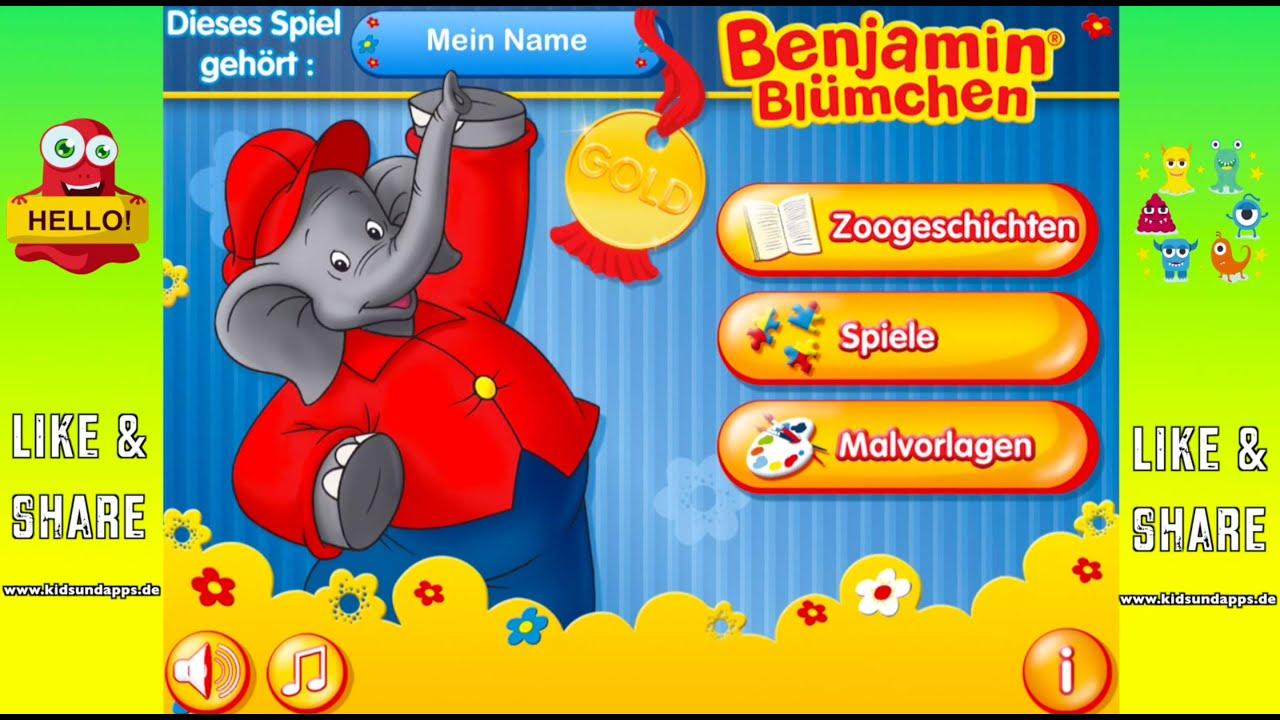 Benjamin Blümchen Gold App Für Kids Youtube
