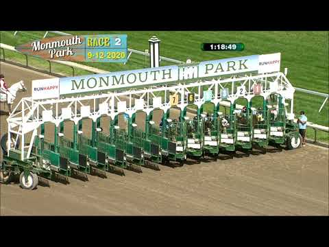 video thumbnail for MONMOUTH PARK 09-12-20 RACE 2
