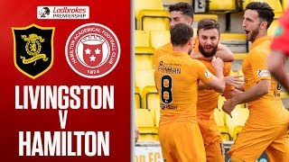 Livingston 1-0 Hamilton | Flawless Lawless Volley! | Ladbrokes Premiership