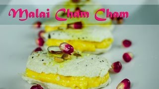 Malai cham cham - Bengali sweet recipe by crazy4veggie.com