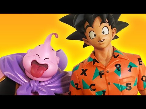 Unboxing Dragon Ball Z Figures With Someone Who's Never Seen It - Up At Noon Live!
