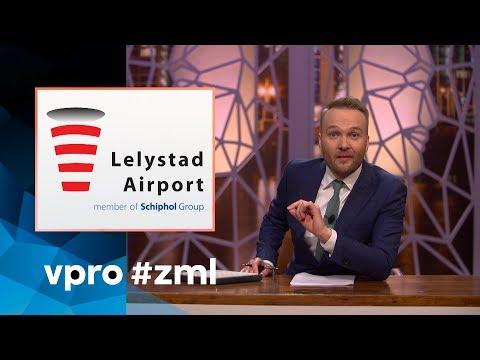 Lelystad Airport en Schiphol - Zondag met Lubach (S07)