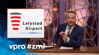 Lelystad Airport and Schiphol - Sunday with Lubach (S07)