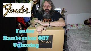 Fender Bassbreaker 007 amp head unboxing - how loud is 7 watts