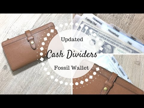 Cash Divider System | Updated | Fossil Wallet |