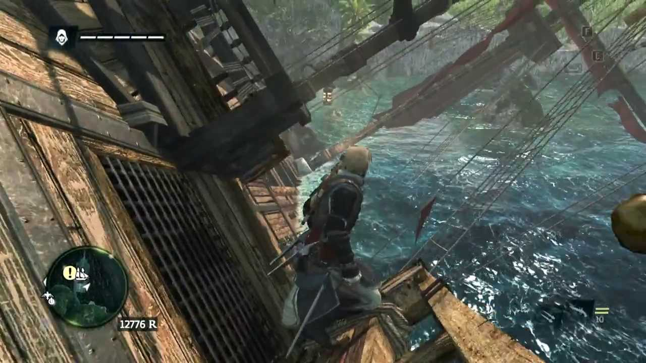 ac4 black flag funny jackdaw glitch youtube