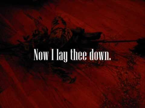 Machine Head - Now I lay thee down (Lyrics)