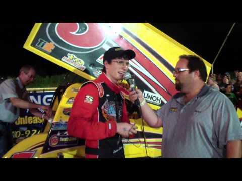 Port Royal Speedway 410 Sprint Car Victory Lane 6-15-13