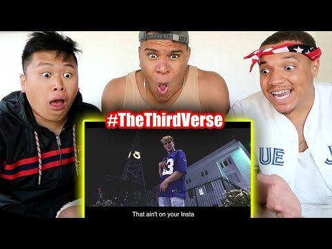 REACTING TO JAKE PAUL'S YOUTUBE DISS TRACK!! (THE THIRD VERSE)